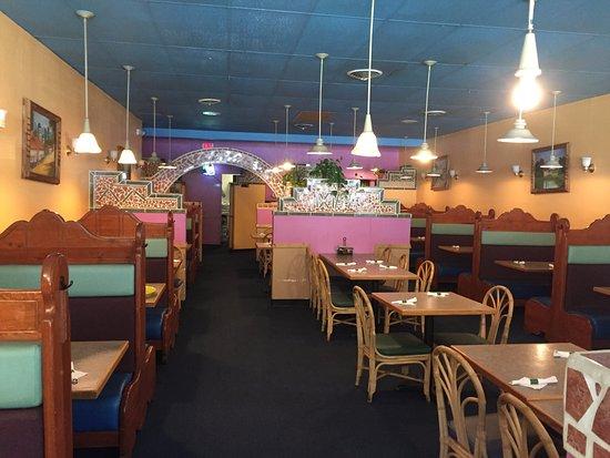Ixtapa Grill Dining Area, Hamden CT