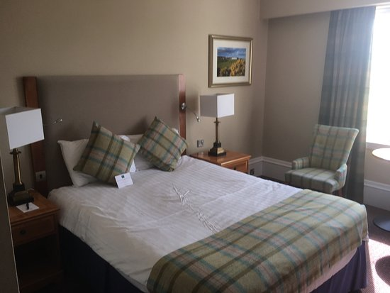 Carnoustie, UK: Golf view room.