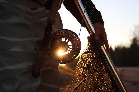 Pello, Finlandia: Salmon Fishing Naamisuvanto -  Petri Uusitalo