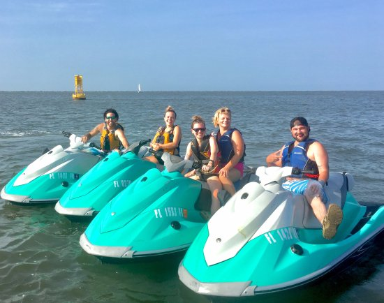 George's Jet Ski Adventures: Ride double or single on our machines.