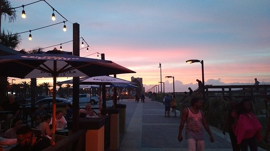 The Pier Restaurant And Sandbar Jacksonville Beach Fl