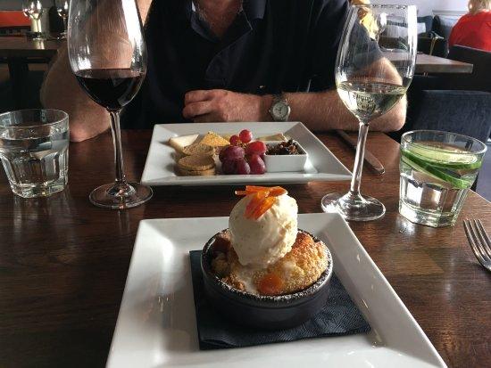 Rollo Stockbridge: Pudding & cheese board