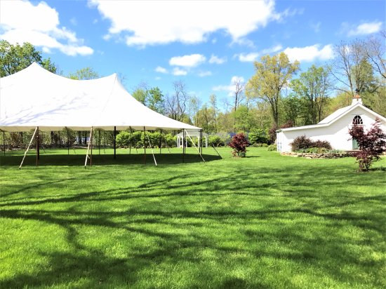 "Salisbury Mills, NY: The ""Chapel"" and Event Tent"