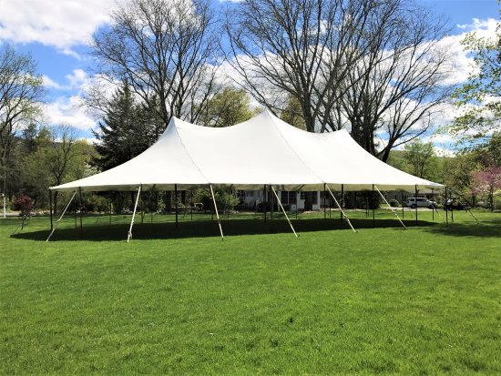 Salisbury Mills, NY: The Great Lawn and Tent
