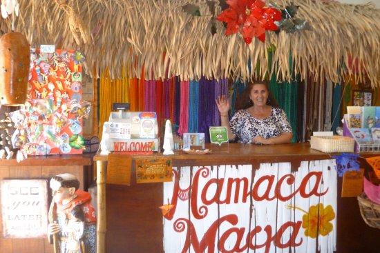La Peñita de Jaltemba, México: cette charmante dame parle français anglais et espagnol