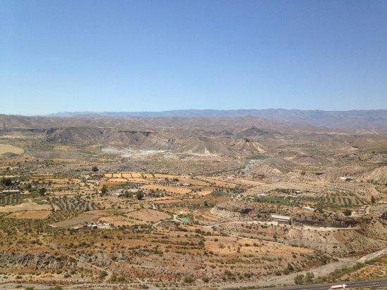 Castillo de Tabernas: View from the castle