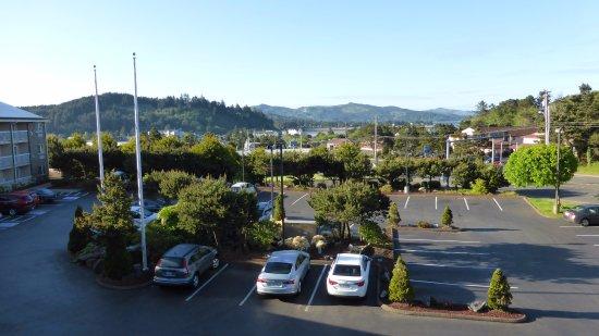 Best Western Plus Landmark Inn : View from balcony