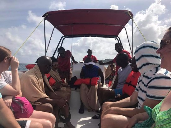 Son of Man Sea Tours: the crew telling us about the island
