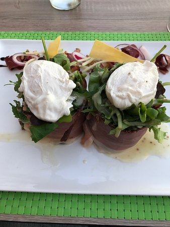 La Petite Pierre, Francia: salade estivale