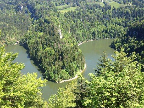 Villers-le-Lac, France: Juste avant le Saut du Doubs