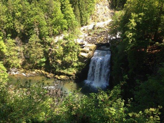 Villers-le-Lac, France: Le Saut du Doubs vu de face