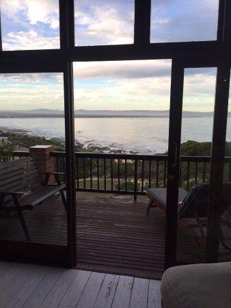 Shaloha Guesthouse on Supertubes : vista do nosso quarto!