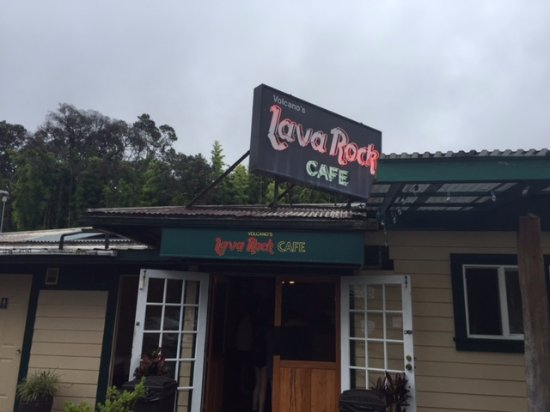 Volcano's Lava Rock Cafe: Lava Rock Cafe