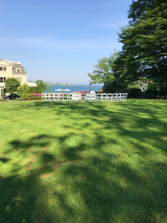 The Chanler at Cliff Walk: A great view from one of the grounds used for events.