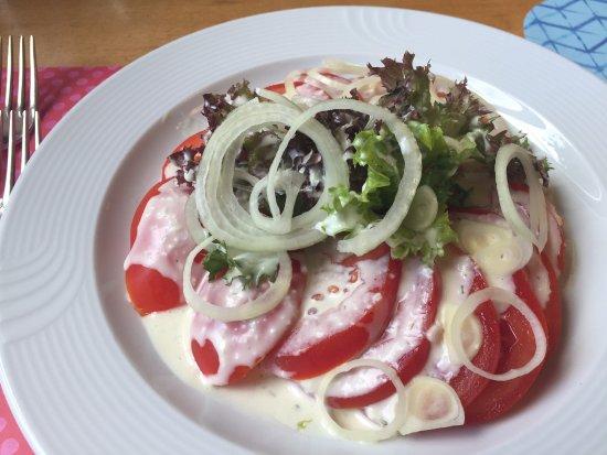 Restaurant Brandenberg: Der Salat