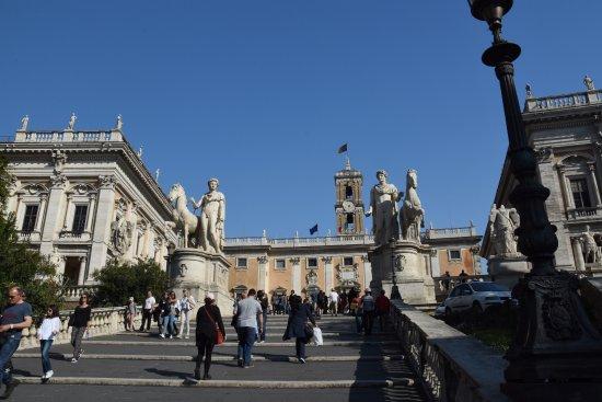 Piazza Del Campidoglio   Escadaria