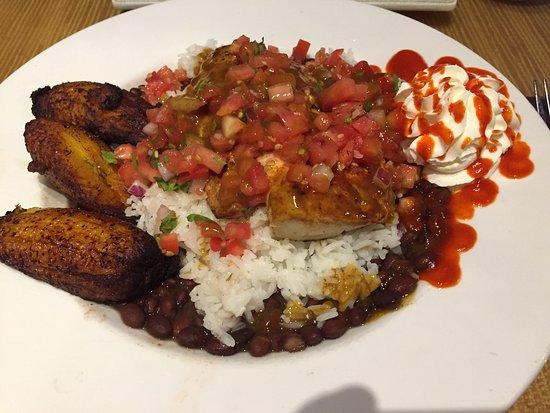 Indialantic, FL: Srirachi Villon Bowl with Mahi-Mahi