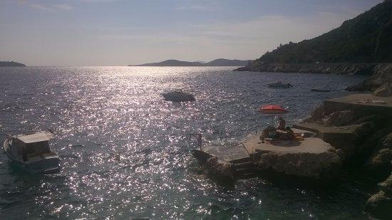 Trsteno, Kroatia: magico Adriatico. Trnsteno