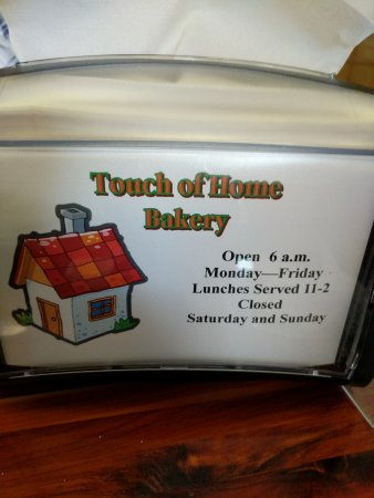Livingston, AL: Touch of Home Mennonite Bakery