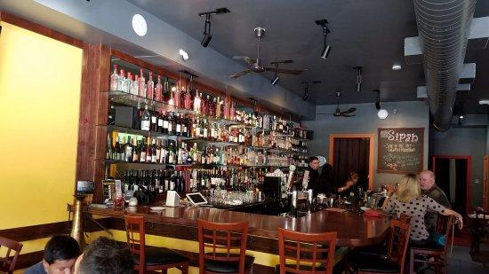 Saratoga, Kalifornien: The bar