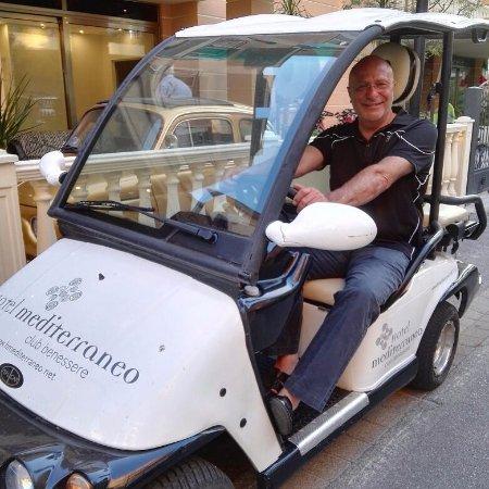 Hotel Mediterraneo Club Benessere: SIMPATICA CAR