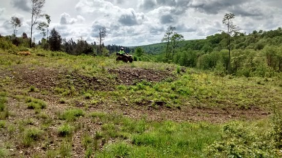 Ulysses, PA: Various pictures from the ATV trail taken on Memorial Day Weekend 2017