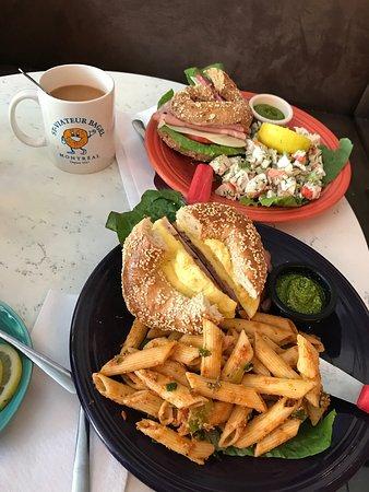 Photo of Cafe St-Viateur Bagel & Cafe at 1127 Du Mont-royal Avenue East, Montreal H2J 1X9, Canada