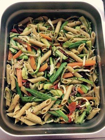 Ricetta Verdure Miste Cotte.Pasta Fredda Con Verdure Miste Cotte A Vapore Picture Of Officina Vegana Naples Tripadvisor