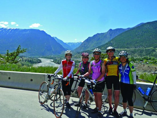 Lafayette, CO: Our cyclists on the road