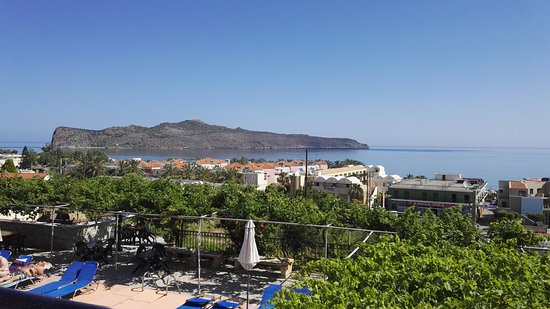 Ekavi Apartments: Nice hotell with a good view