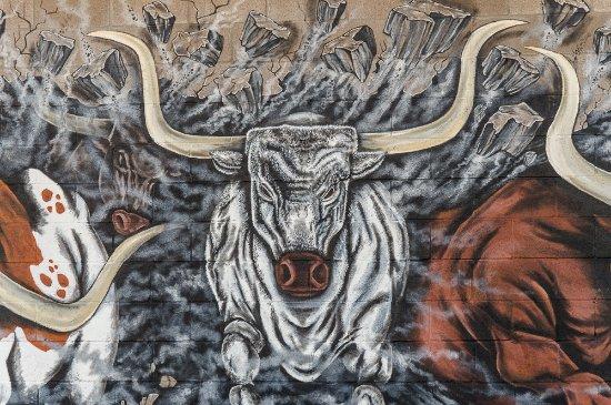 Mural on Vega Highschool