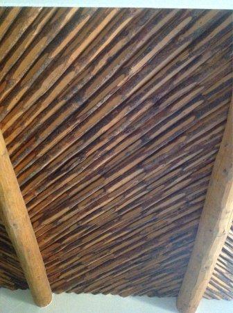 JW Marriott Scottsdale Camelback Inn Resort & Spa: The ceiling in our room