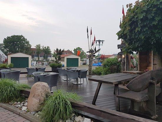 Greifswald, Germany: Outside sitting