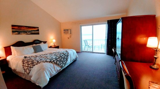 East Boothbay, ME: Our King Room