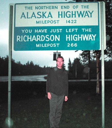 End of the Alaska Highway in Delta Junction. Begin of Richardson Highway.
