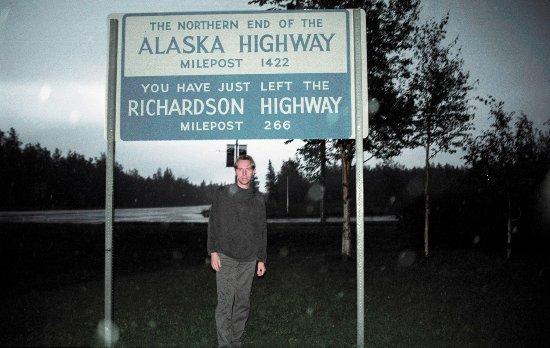 End of the Alaska Highway in Delta Junction. Begin of Richardson Highway.