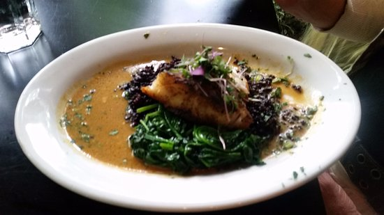 Michael's on Main: Sea bass special