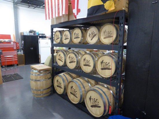 MISCellaneous Distillery: Barrels