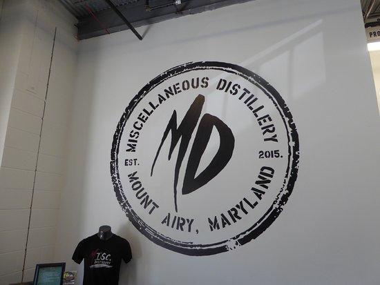 MISCellaneous Distillery: Wall Design