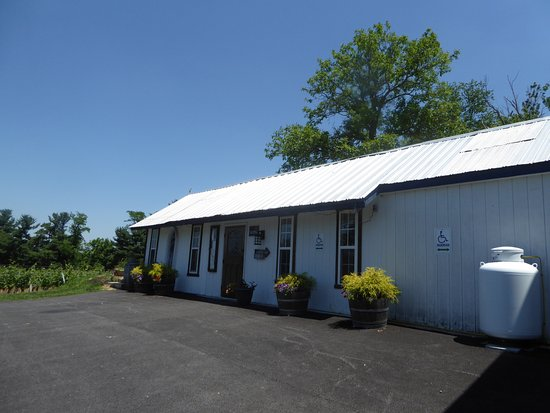 Elk Run Vineyards : Tasting Building