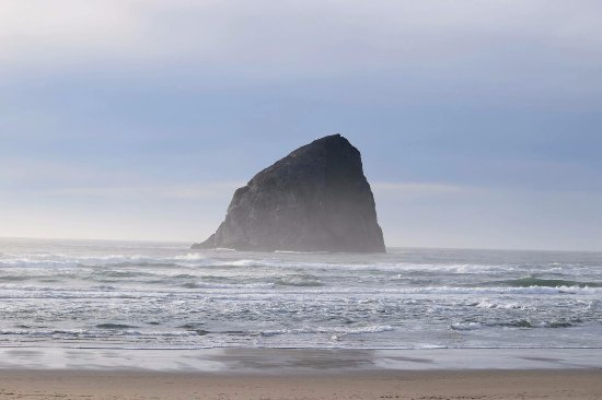 Pacific City, OR: The beautiful beach near sunset, just across from the hotel.