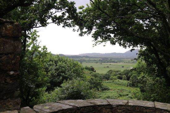 Plas Brondanw Gardens: Blick zur Irish Sea
