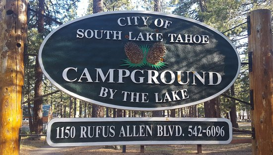 Campground by the Lake: The Campground Entrance