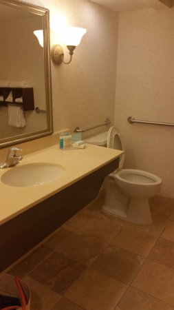 Hampton Inn and Suites Charleston/Mt. Pleasant-Isle Of Palms: Spacious Bathroom