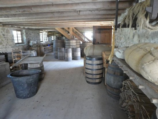 Louisbourg, Canadá: One of the rooms in the enacment site of how life was