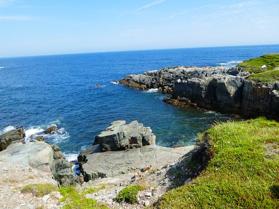 Louisbourg, Canadá: A veiw of the beautiful Cape Bereton