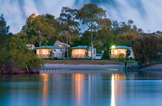 Tweed Heads, Australia: Riverfront cabins over the Tweed River 2