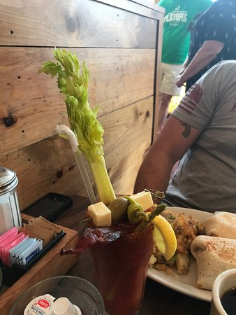 Ludlow, VT: The Bloody Mary is an appetizer!