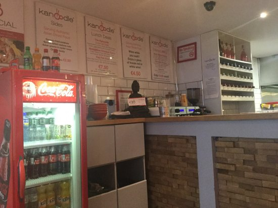 Kanoodle Navan counter and specials