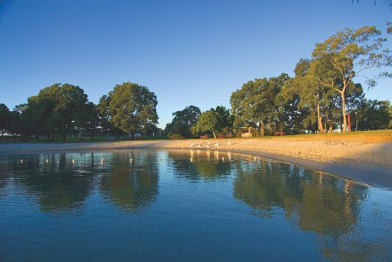 Tweed Heads, Australië: In park riverfront and boat access